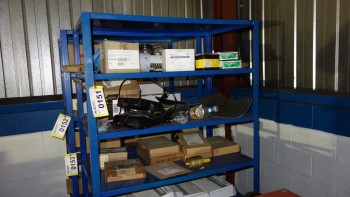 CONTENTS OF SHELVING - VALVE REPLACEMENT PARTS, ASCO, FIKE, FISHER, PROQUIP