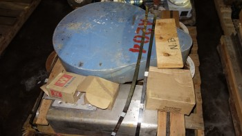 1 PALLET OF ASSORTED POWER TRANSMISSION, SPROCKETS, PULLEYS, REDUCER, TB WOODS