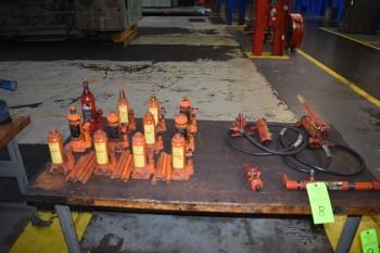 Hydraulic Porta Powers & 4 Ton Bottle Jacks