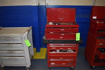 Matco Tool Boxes w/ Contents