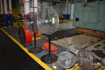 Lot of Industrial Fans