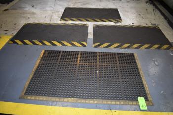 (4) Cushioned Floor Mats