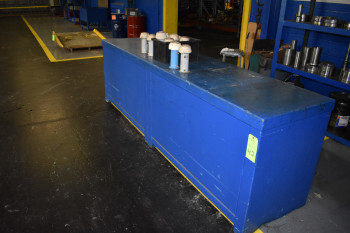 Steel Parts Counter w/ Contents