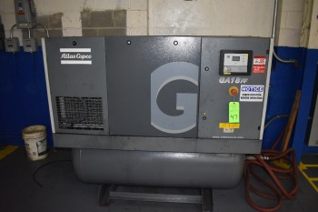 Atlas Copco AIr Compressor, Model GA-18FF-A125FM, 25 hp