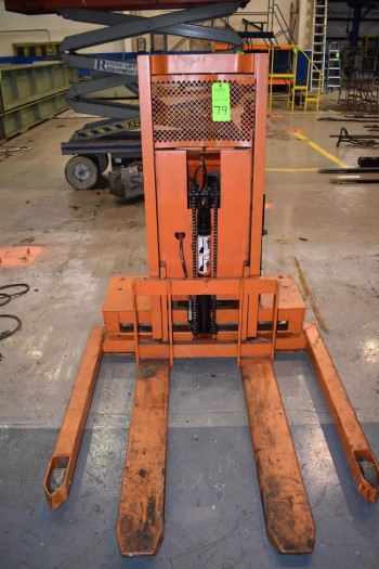 Lee-Presto Electric Lift Push Pallet Truck Model WPS4236-10