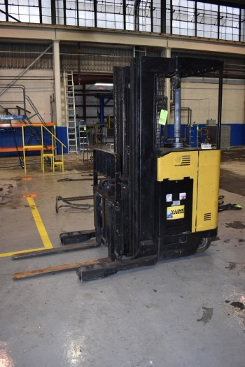 4000LB Clark Model NPP20, Stand up Electric Pallet Lift
