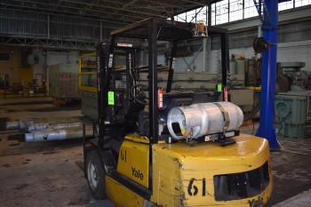 4800lb Yale LP Fork Lift Model GLP060TGEVAC087