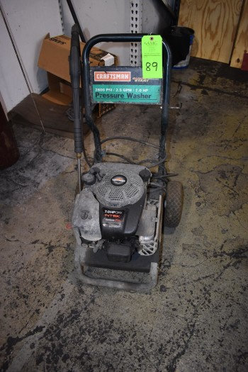 Craftsman 2800PSI, 7HP Portable Power Washer, Briggs & Stratton Motor