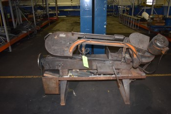 Wells Horizontal Metal Band Saw Model 8m, s/n:12833