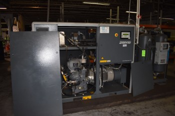 Atlas Copco model ZR50USD 60HP Air Compressor