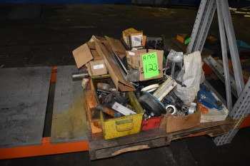 Lot of Misc. Pumps, Spare Parts, (6) Pallets w/ Pumps