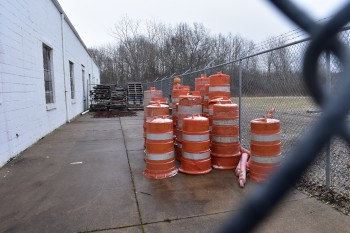 Lot of Construction Barrel\'s