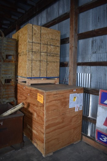 Lot of approx. (10) Wood Crates