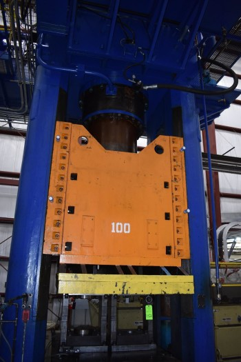 1200 Ton HPM Downacting GIB Guided Hydraulic Press