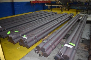 Lot of (20) Pieces of Solid Steel Bar, 5.5