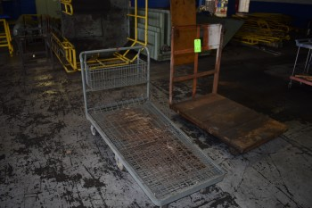 (2) Rolling Carts