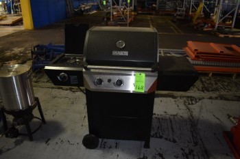 Masterforge Propane BBQ Grill w/side burner & Tank, Deep Fryer w/ LP Tank