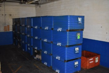 Lot of approx. (52) Steel Totes, 39\