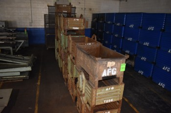 Lot of (19) Steel Totes, 26\