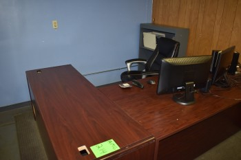 Office w/ Contents, Desk, Chair, White board, Metal File Cabinet