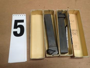 2 Pcs NOS Sumitomo GCR-2525-C Indexable Carbide Lathe Grooving Holder GCR2525-C