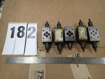 5 Pcs Sperry Vickers Hyd Valves 4x DGMFN-3-Y-A2W-B2W-21 1x DGMFN-3-Y-B2W-20