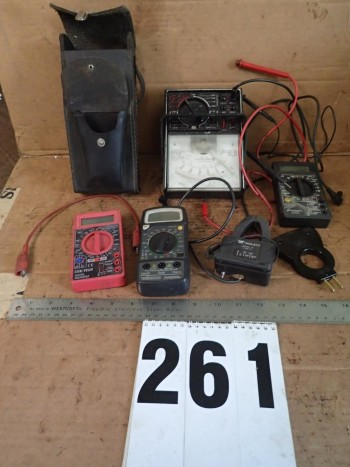 Assorted Electrical Test Meters