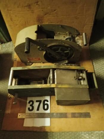 2 pcs Gummed Craft Tape Dispensers for Parts/Repair