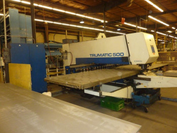 1998 Trumpf TC-500 28T Punch