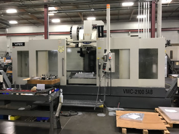 2008 Mighty Viper VMC-2100-5AB 5-Axis VMC