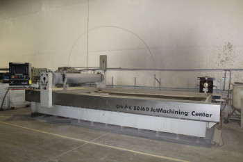 2003 Omax 80160 Waterjet