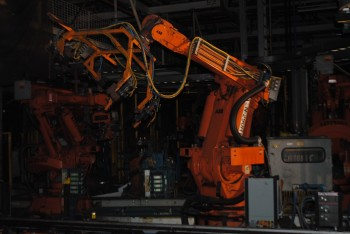 9 Count of --   ABB IRB 6400 Industrial Robots with Welder