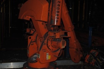 5 Count of --   ABB IRB 6400 Industrial Robots with Welder