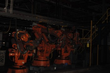 12 Count of --   ABB IRB 6400 Industrial Robots with Welder