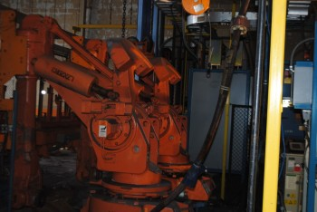 4 Count of --   ABB IRB 6400 Industrial Robots with Welder