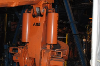 2 Count of --   ABB IRB 6400 Industrial Robots with Welder