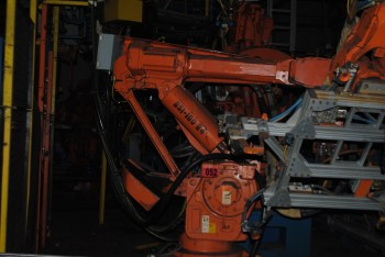 ABB IRB 6400 Industrial Robot with Welder