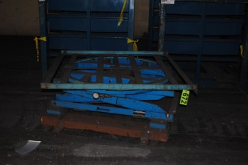Air Operated Lift Table