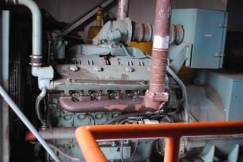 Detroit Diesel Motor Generator Set