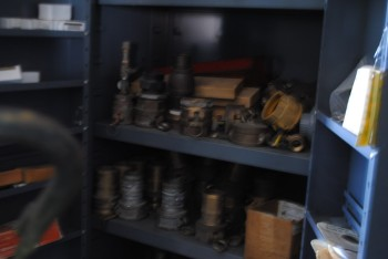 Steel cabinet with Contents