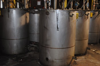 Binks Stainless Steel Mix Tank