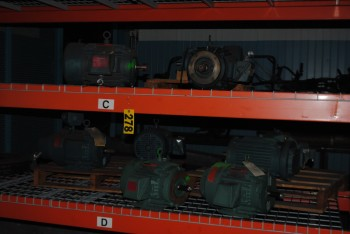 Assorted Reliance Electric Motors