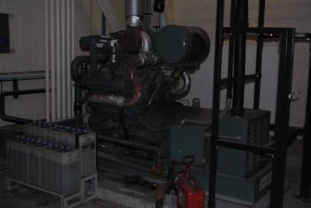 Detroit Motor Generator Set, 6 cyl, s/n 6VF129647, MDL 80637405