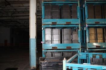8x8x4 material racks 17 pcs