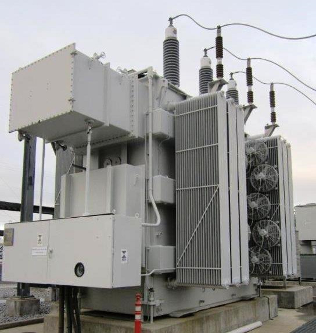 McGraw-Edison Substation Transformer with Load Tap Changing