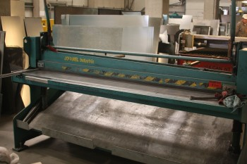 MANUAL GUILOTINE WITH SHEAR WITH HORIZONTAL LEVER CGM