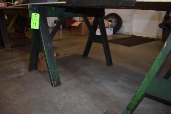 Steel Saw Horse, 4'x 33