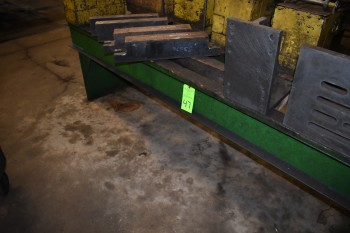 Heavy Duty Steel I-Beam Table, 101
