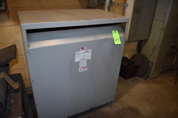 Federal Pacific Model 36-B Catalog T43T225, 225KVA Transformer