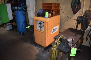 Steel Welding Table w/ Contents lot